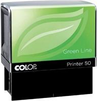 TEKSTSTEMPEL COLOP 40 GREEN BON 6R 59X23MM 1 STUK