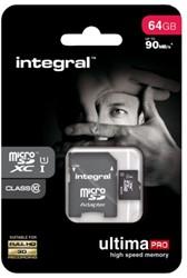 GEHEUGENKAART INTEGRAL MICRO SDXC 64GB ULTIMAPRO CL10 1 STUK