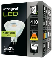 LEDLAMP INTEGRAL MR16 6W 2700K DIMBAAR WARM WIT 1 STUK-2