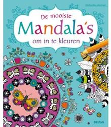 KLEURBOEK DELTAS DE MOOISTE MANDALAS 1 STUK