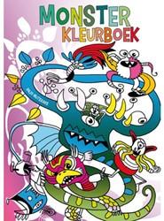KLEURBOEK MONSTER 1 STUK