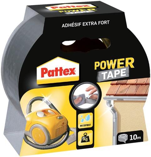 PLAKBAND PATTEX 50MMX10M POWER TAPE GRIJS 1 Blister