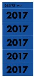 RUGETIKET LEITZ 2017 BLAUW JAARETIKET 100 STUK