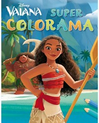 KLEURBOEK DISNEY SUPER COLORAMA VAIANA 1 STUK
