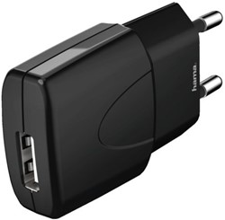 OPLADER HAMA PICCO USB 1A ZWART 1 STUK