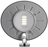 BUREAULAMP MAUL SPACE LED DIMBAAR ZILVER 1 STUK-3