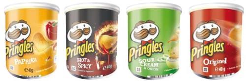 CHIPS PRINGLES HOT&SPICEY 40GR 1 STUK-2