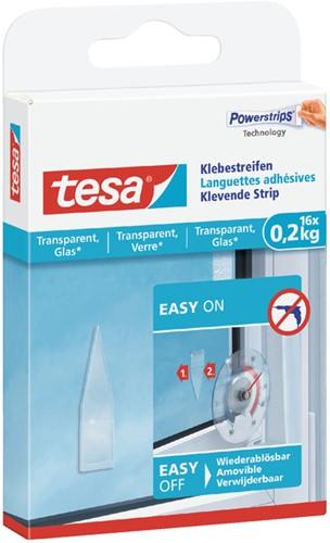POWERSTRIP TESA TRANSPARANT 0.2KG 16 Stuk