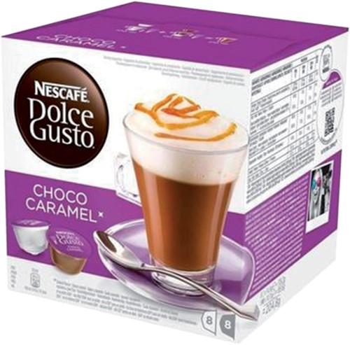 DOLCE GUSTO CHOCO CARAMEL 16 CUPS / 8 DRANKEN 16 CUP-4