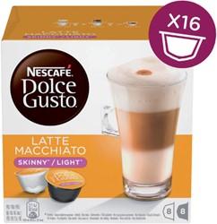DOLCE GUSTO LATE MACCHIATO LIGHT 16 CUPS / 8 DRANKEN 16 CUP