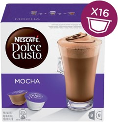 DOLCE GUSTO MOCHA 16 CUPS / 8 DRANKEN 16 CUP
