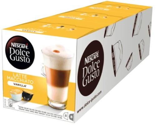 DOLCE GUSTO VANILLE MACCHIATO 16 CUPS / 8 DRANKEN 16 CUP-1