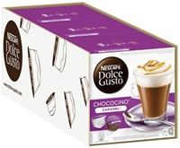 DOLCE GUSTO CHOCO CARAMEL 16 CUPS / 8 DRANKEN 16 CUP-1