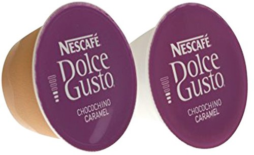 DOLCE GUSTO CHOCO CARAMEL 16 CUPS / 8 DRANKEN 16 CUP-6