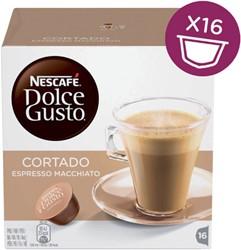 DOLCE GUSTO CORTADO ESPRESSO MACCHIATO 16 CUPS 16 CUP