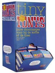 CHOCOLADE TONY'S CHOCOLONELY NAPOLITAINS PUUR 700GR 140 STUK