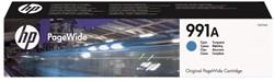 INKCARTRIDGE HP 991A M0J74AE BLAUW 1 STUK