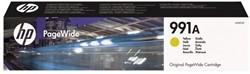 INKCARTRIDGE HP 991A M0J82AE GEEL 1 STUK