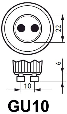 LEDSPOT PHILIPS GU10 MV D 4.6-50W 1 STUK-2