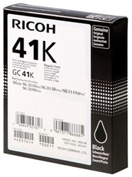 GEL CARTRIDGE RICOH GC-41K 1 STUK