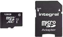 GEHEUGENKAART INTEGRAL MICRO SDXC 128GB CL10 1 STUK