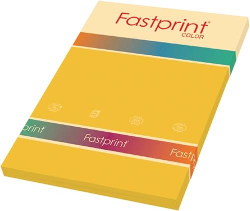 KOPIEERPAPIER FASTPRINT-100 A4 120GR GOUDGEEL 100 Vel