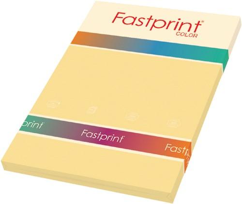 KOPIEERPAPIER FASTPRINT-100 A4 80GR DONKERCHAMOIS 100 Vel