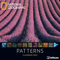 KALENDER 2019 TENEUES NAT GEO PATTERNS 30X30CM 1 STUK