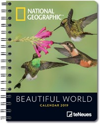 AGENDA 2019 TENEUES NG BEAUTIFUL WORLD 16.5X21.6 1 STUK