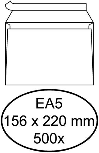 ENVELOP HERMES BANK EA5 156X220 ZK 80GR WIT 500 Stuk