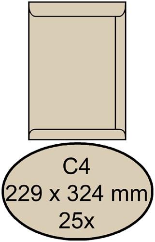 ENVELOP CLEVERMAIL AKTE C4 229X324MM 120GR 25ST CR 25 Stuk