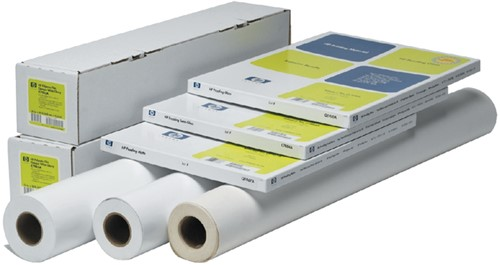 INKJETPAPIER HP C6029C 610MMX30M 130GR 30 Meter
