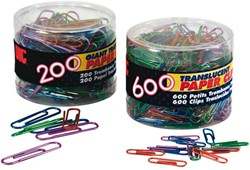 PAPERCLIP OIC 50MM IN TON ASS 200 STUK