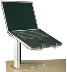 LAPTOPSTANDAARD FELLOWES OPUS 2 STYLE TRANSPARANT 1 STUK