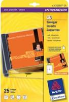 CD INLEGKAART AVERY ZWECK C32250-25 151X118MM 25ST 25 VEL