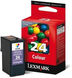 INKCARTRIDGE LEXMARK 24 18C1524E PREBATE KLEUR 1 STUK