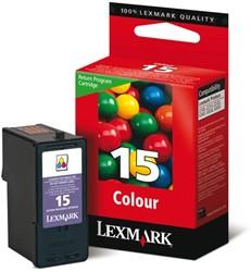 INKCARTRIDGE LEXMARK 15 18C2110E PREBATE KLEUR 1 STUK
