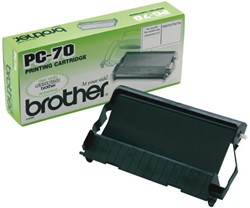 DONORROL BROTHER PC-70 + CARTRIDGE 1 SET