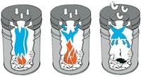 PAPIERBAK+VLAMDOVER VEPABINS 15LITER R 25.5CM GRIJS 1 STUK