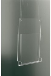 FOLDERHOUDER OPUS2 A5 STAAND HANGEND GLASHELDER 1 STUK