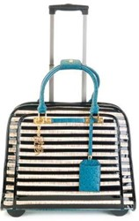TROLLEY OLIVIA LAUREN BLUE STRIPES  1 STUK